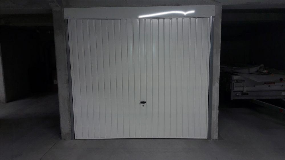 Box avec porte Grand Passage® (montants verticaux 40mm)
